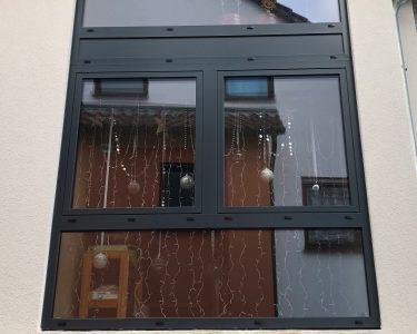 Schüko Fenster Fenster Schüko Fenster Aluminium Von Schco Farbe Anthrazit Grau Baustelle In Sicherheitsfolie Sichtschutz Mit Rolladen Fliegengitter Für Rc3 3 Fach Verglasung