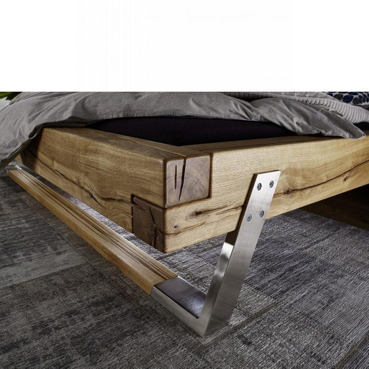 Medium Size of Balkenbett Be 0278 Wildeiche Massiv 180x200 Cm Mbel Jhnichen Steens Bett Schutzgitter Betten Massivholz 120x200 Mit Bettkasten 140x200 Weiß Frankfurt Bett Bett Eiche Massiv 180x200