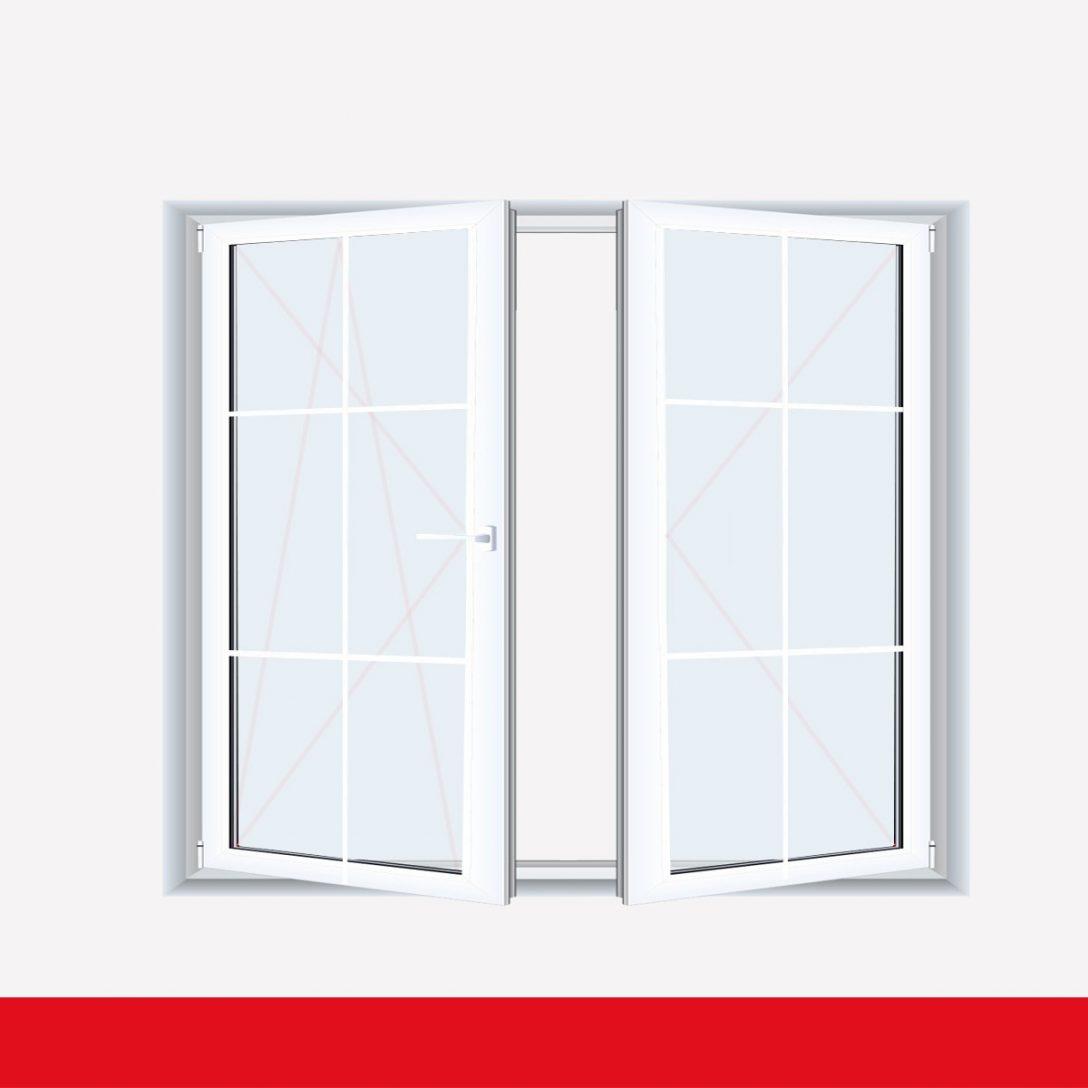 Large Size of Kunststoff Fenster Sprossenfenster Typ 6 Felder Wei 2 Flg Stulp Kunststofffenster Insektenschutzrollo Neue Kosten Kbe Herne Insektenschutz Folien Für Fenster Kunststoff Fenster
