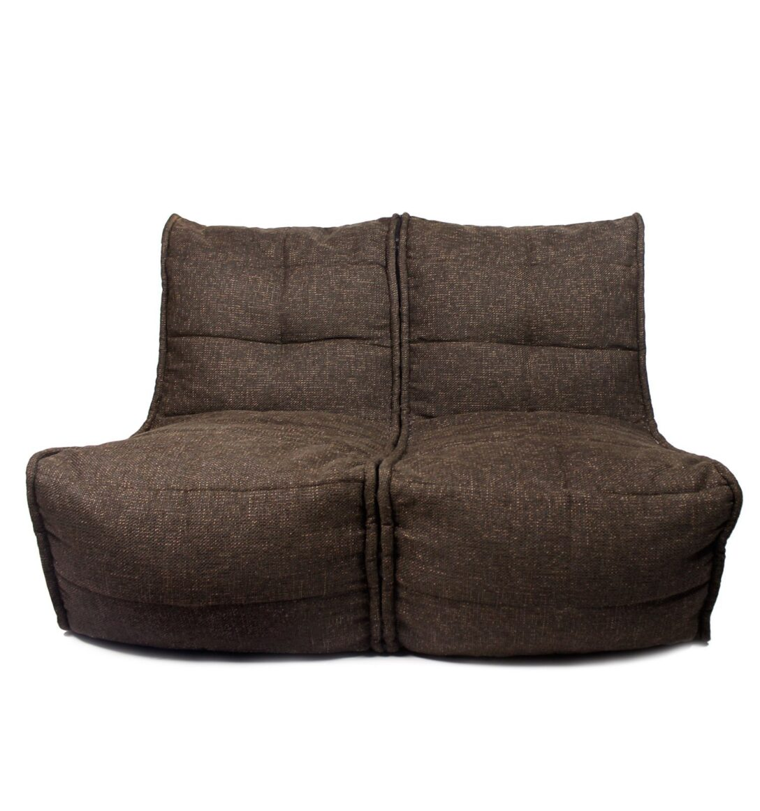 Large Size of Sitzsack Sofa Twin Hot Chocolate Ambientyou Mit Abnehmbaren Bezug 2 Sitzer Neu Beziehen Lassen Stoff Grau Polsterreiniger Langes Petrol Lagerverkauf Xxxl Sofa Sitzsack Sofa