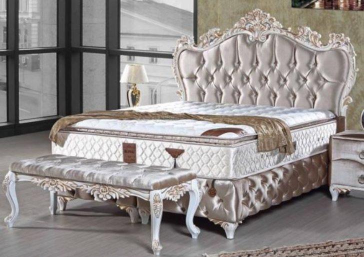 Medium Size of Barock Bett Casa Padrino Doppelbett Silber Wei Gold Prunkvolles Betten Aus Holz 140x200 Sitzbank Skandinavisch Dico Mit Stauraum 160x200 200x200 Kopfteil Bett Altes Bett
