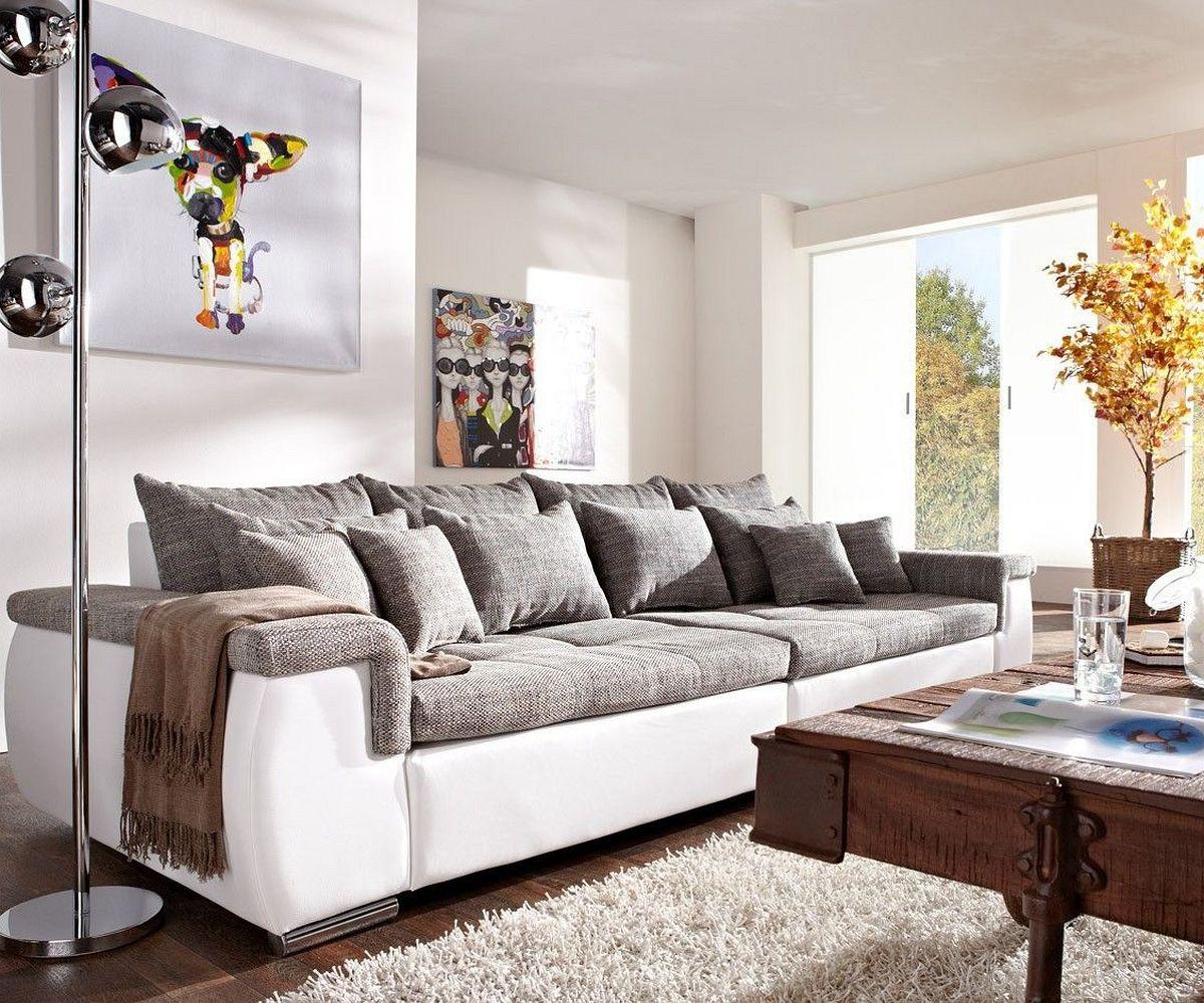 Full Size of Weißes Sofa Navin 275x116 Cm Hellgrau Weiss Couch Mit Kissen Mbel Sofas Comfortmaster Breit Stoff Le Corbusier Chippendale Chesterfield Grau Reinigen Leinen Sofa Weißes Sofa