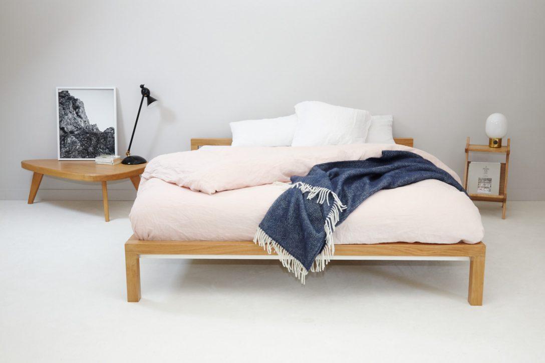 Large Size of Pure Bett Eiche 160x200 Cm Hans Hansen Einrichten Designde Mit Lattenrost Und Matratze Günstig Kaufen 90x200 Betten 200x200 Bettkasten 120x200 Weißes Weiß Bett 160x200 Bett