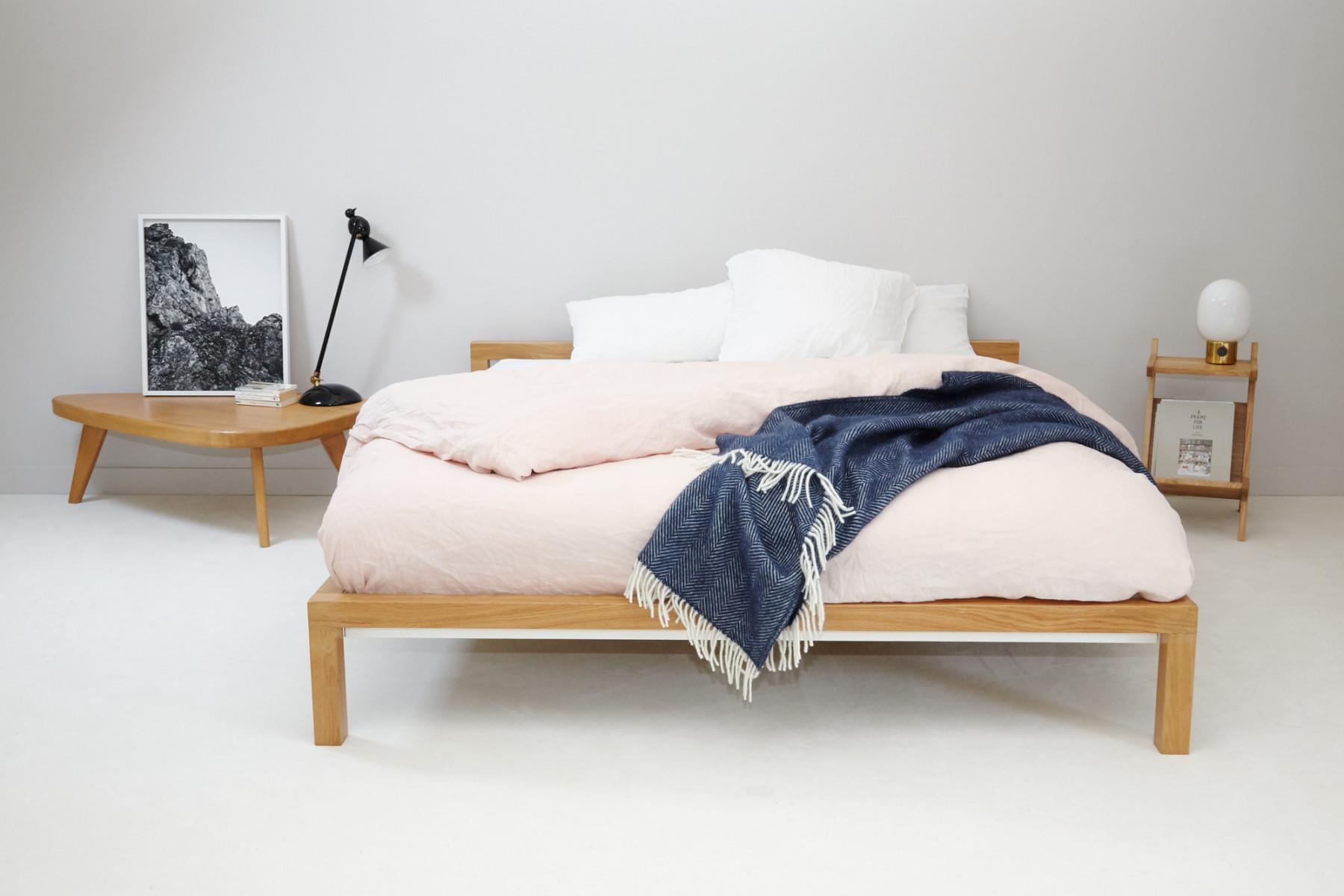 Full Size of Pure Bett Eiche 160x200 Cm Hans Hansen Einrichten Designde Mit Lattenrost Und Matratze Günstig Kaufen 90x200 Betten 200x200 Bettkasten 120x200 Weißes Weiß Bett 160x200 Bett