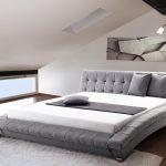 Stoff Bett Stoffbett Grau Mit Lattenrost Lattenrahmen 160 180 X Coole Betten Outlet Ausgefallene 100x200 Luxus Amazon 180x200 Und Matratze Ebay Weiß Bett Günstige Betten 180x200