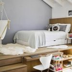 Bett Unter Dachschrge Im Jugendzimmer Tipps 180x200 Günstig Schöne Betten Wildeiche Holz Weißes 140x200 Kaufen Leander Prinzessinen 200x180 90x200 Mit Bett Erhöhtes Bett