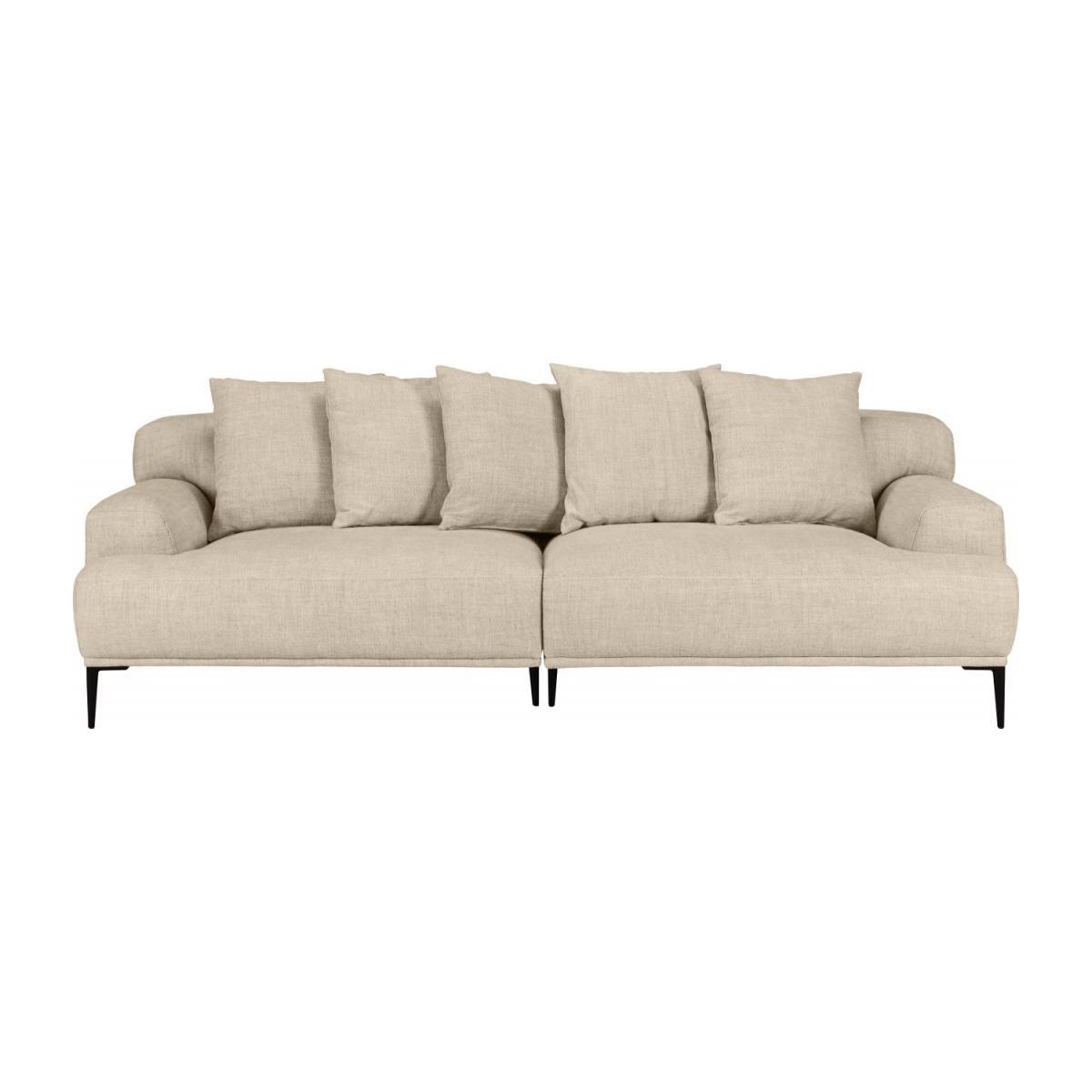 Full Size of Leinenstoff Sofa Reinigen Couch Baumwolle Leinen Bezug Holz Sofahusse Beige Leinenbezug Stoff Waschen Hussen Weiss Big Ottone 3 Sitzer Aus Naturfarben Habitat Sofa Sofa Leinen