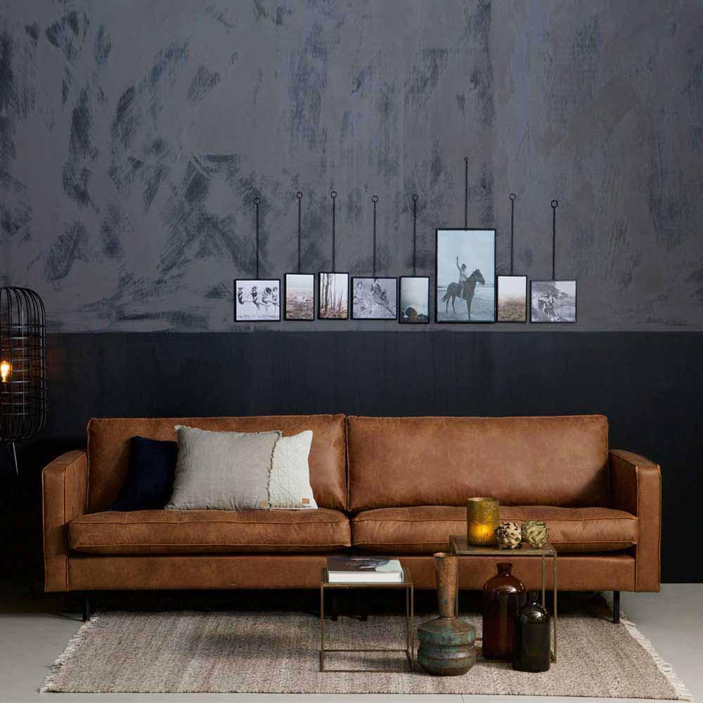 Full Size of 3 Sitzer Sofa Macaza In Cognac Braun Recyclingleder Pharao24de Creme Rattan Liege Schillig Xxxl Altes Ektorp Xxl Günstig Erpo Led L Form Muuto Online Kaufen Sofa Sofa Cognac