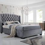 Graues Bett Passende Wandfarbe Kombinieren Bettlaken Waschen 120x200 Ikea Brando Wing Back Chesterfield King Size Bettrahmen 5ft Bettkasten Massivholz Betten Bett Graues Bett