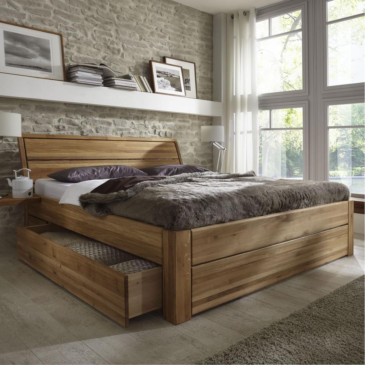 Full Size of Massivholz Schubladenbett 180x200 Holzbett Bett Eiche Massiv Gelt Betten Kaufen 90x200 Mit Stauraum Esstische Amazon Test Bonprix 140x200 Für übergewichtige Bett Massiv Betten