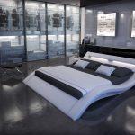 Wasser Bett Elegantes Wasserbett Massa Mit Moderner Beleuchtung Tagesdecke Massiv Betten 120x190 Balken Landhausstil Wasserhähne Bad Komforthöhe 140 Cars Bett Wasser Bett