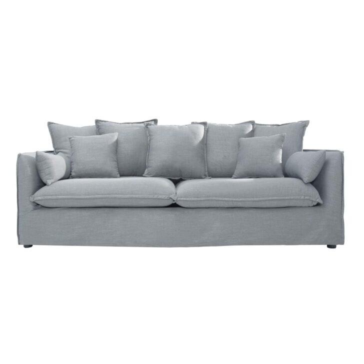 Medium Size of 3er Sofa Grau Groes Heaven 215 Cm Leinenstoff Couch Real Luxus Canape Stoff Chesterfield Leder Mit Relaxfunktion Elektrisch Neu Beziehen Lassen Weiß Big Sofa 3er Sofa Grau