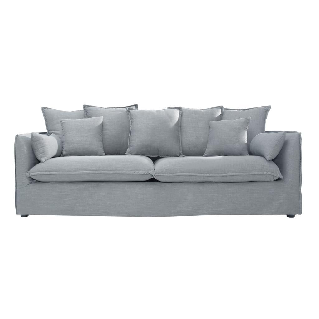 Full Size of 3er Sofa Grau Groes Heaven 215 Cm Leinenstoff Couch Real Luxus Canape Stoff Chesterfield Leder Mit Relaxfunktion Elektrisch Neu Beziehen Lassen Weiß Big Sofa 3er Sofa Grau