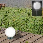 Thomas Philipps Sonderposten Onlineshop Led Solar Kugelleuchte 15cm Garten Relaxsessel Aldi Feuerstelle Lounge Möbel Sichtschutz Wpc Schaukel Für Garten Kugelleuchte Garten