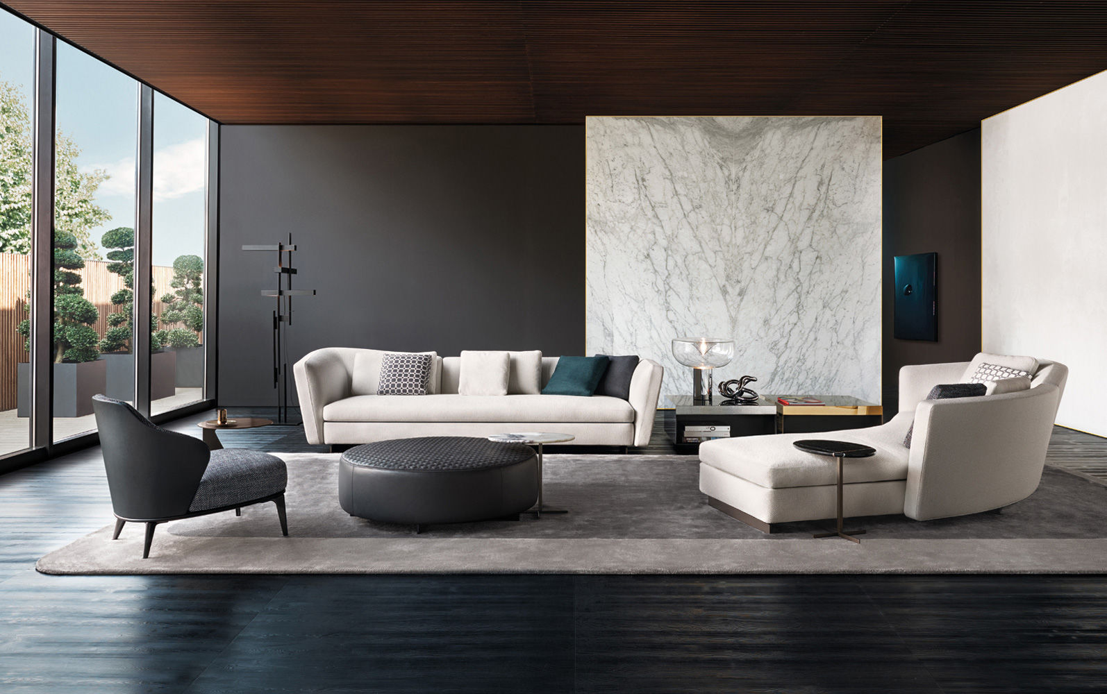 Full Size of Minotti Sofa Couch For Sale Cad Block Hamilton India Used Bed Alexander Dimensions Lawrence List Freeman Modulsofa Eck Halbrund Modern Seymour Tom Tailor Big L Sofa Minotti Sofa