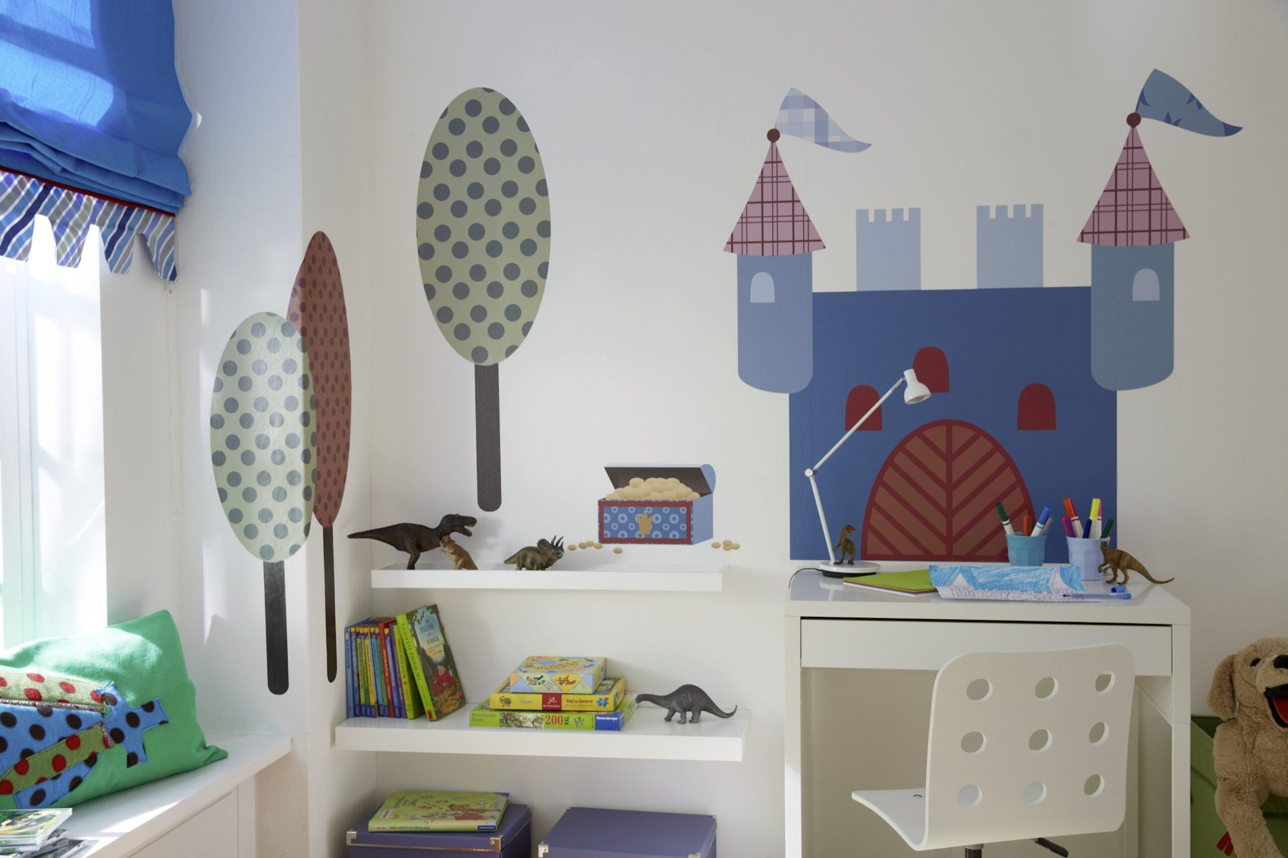 Full Size of Raffrollo Kinderzimmer Wird Zum Abenteuerland Diewohnbloggerde Regal Weiß Küche Sofa Regale Kinderzimmer Raffrollo Kinderzimmer
