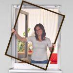 Alu Fenster Fenster Easy Life Insektenschutz Alu Fenster Greenline Mit Bohrfreier Sichtschutzfolie Einseitig Durchsichtig Alarmanlage Einbruchsicherung Absturzsicherung