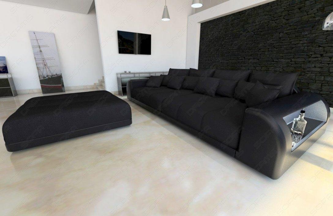 Large Size of Big Sofa Miami Couch Mit Beleuchteten Armlehnen L Form Hay Mags Rund Landhaus Franz Fertig Braun Kaufen Günstig Samt Mondo Recamiere Stoff Grau Muuto Ikea Sofa Big Sofa Xxl