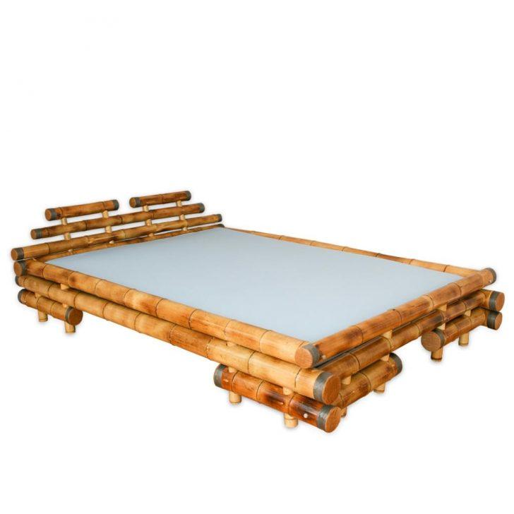 Medium Size of Bambus Bett Homestyle4u 1024 Weißes 160x200 Kingsize Sofa Mit Bettfunktion Japanisches Poco Betten 180x200 Weiß Rückenlehne Billige Mädchen Unterbett Bett Bambus Bett