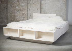 Bett Mit Stauraum 140×200