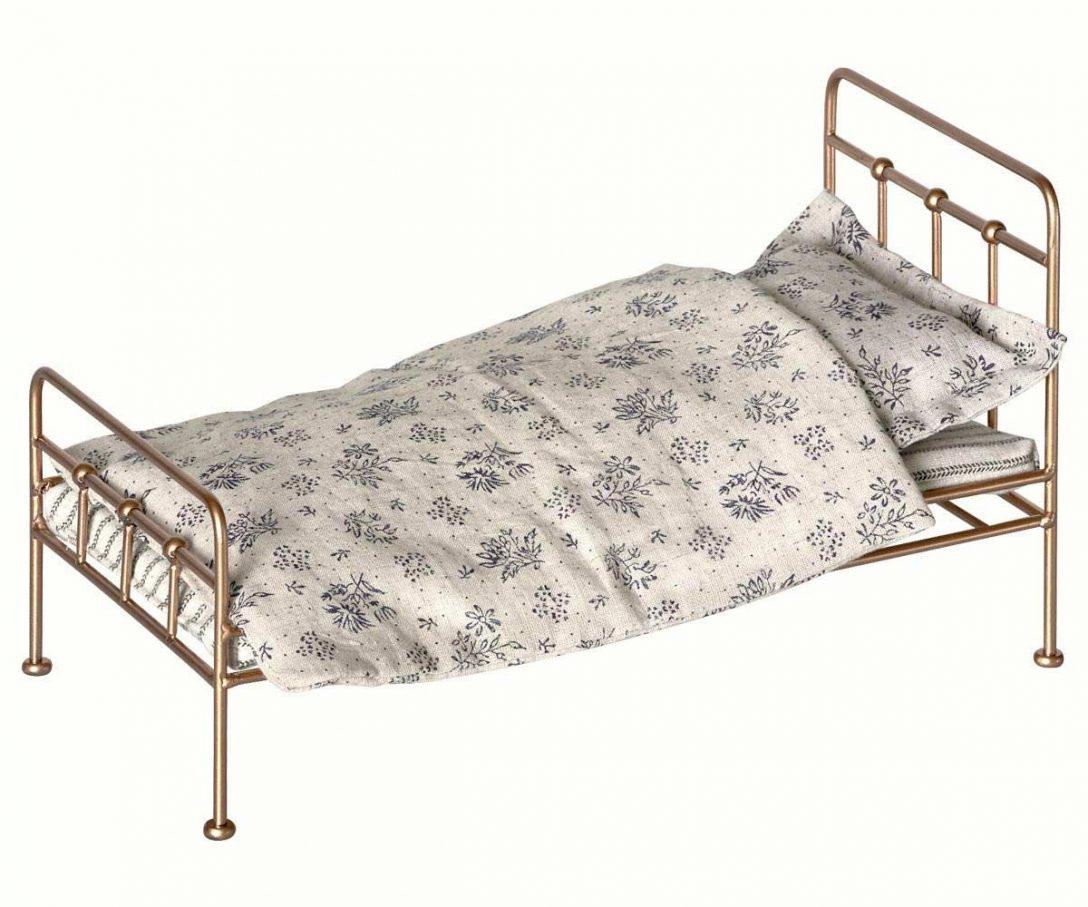 Large Size of Dein Alsabade Maileg Bett In Gold Und Mini Betten 90x200 Ohne Füße Weiß 140x200 Hasena Mit Stauraum Ruf Preise 120x190 Ausklappbares Günstige 180x200 Bett Bett Vintage