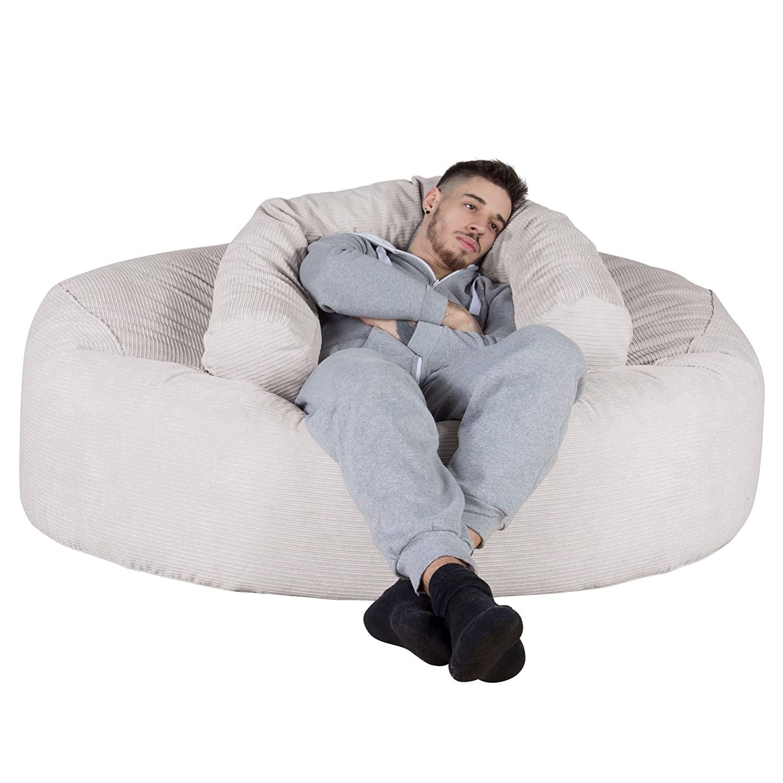 Full Size of Mega Mammoth Sofa Sitzsack Xxl Nadelstreifencord Nerzfarben Büffelleder Mit Relaxfunktion Elektrisch 2 Sitzer Karup Creme Arten Stressless Wk Schlaffunktion Sofa Sitzsack Sofa