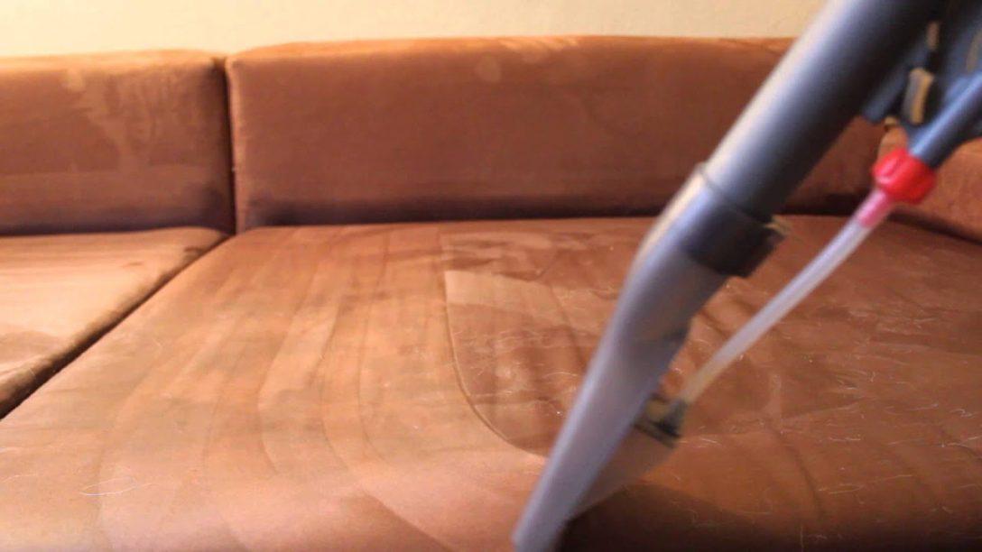 Large Size of Sofa Reinigen Reinigung Einer Microfaser Couch Durch Sprhextraktion Youtube Big Sam Mondo Garnitur Xxxl Mit Bettfunktion Leder Wk Franz Fertig Himolla 3 Sitzer Sofa Sofa Reinigen