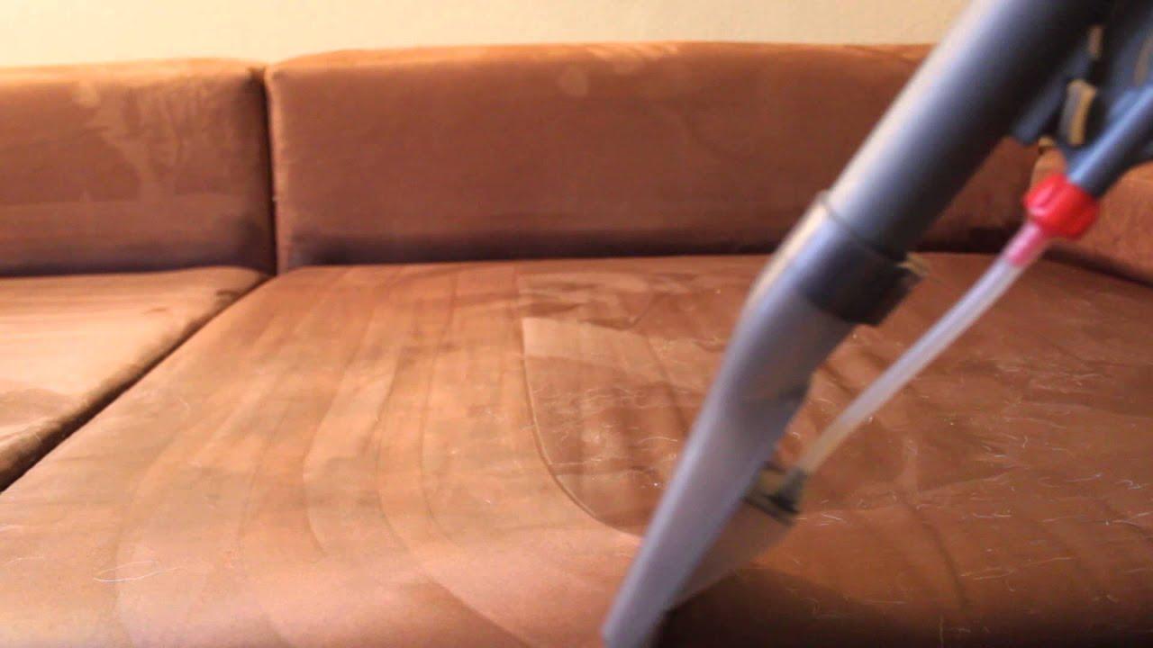 Full Size of Sofa Reinigen Reinigung Einer Microfaser Couch Durch Sprhextraktion Youtube Big Sam Mondo Garnitur Xxxl Mit Bettfunktion Leder Wk Franz Fertig Himolla 3 Sitzer Sofa Sofa Reinigen