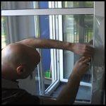 Splitterschutzfolien Und Sicherheitsfolien Klar 4 Mil Sr Rollo Fenster Jalousien Sonnenschutz Zwangsbelüftung Nachrüsten Dreifachverglasung Klebefolie Für Fenster Wärmeschutzfolie Fenster