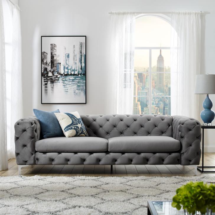 Medium Size of Sofa 3 Sitzer Grau Extravagantes Samt Modern Barock Couch überzug Englisches Landhausküche 2 1 Eck Federkern Zweisitzer Lila 5 Indomo Graues Rc3 Fenster Sofa Sofa 3 Sitzer Grau