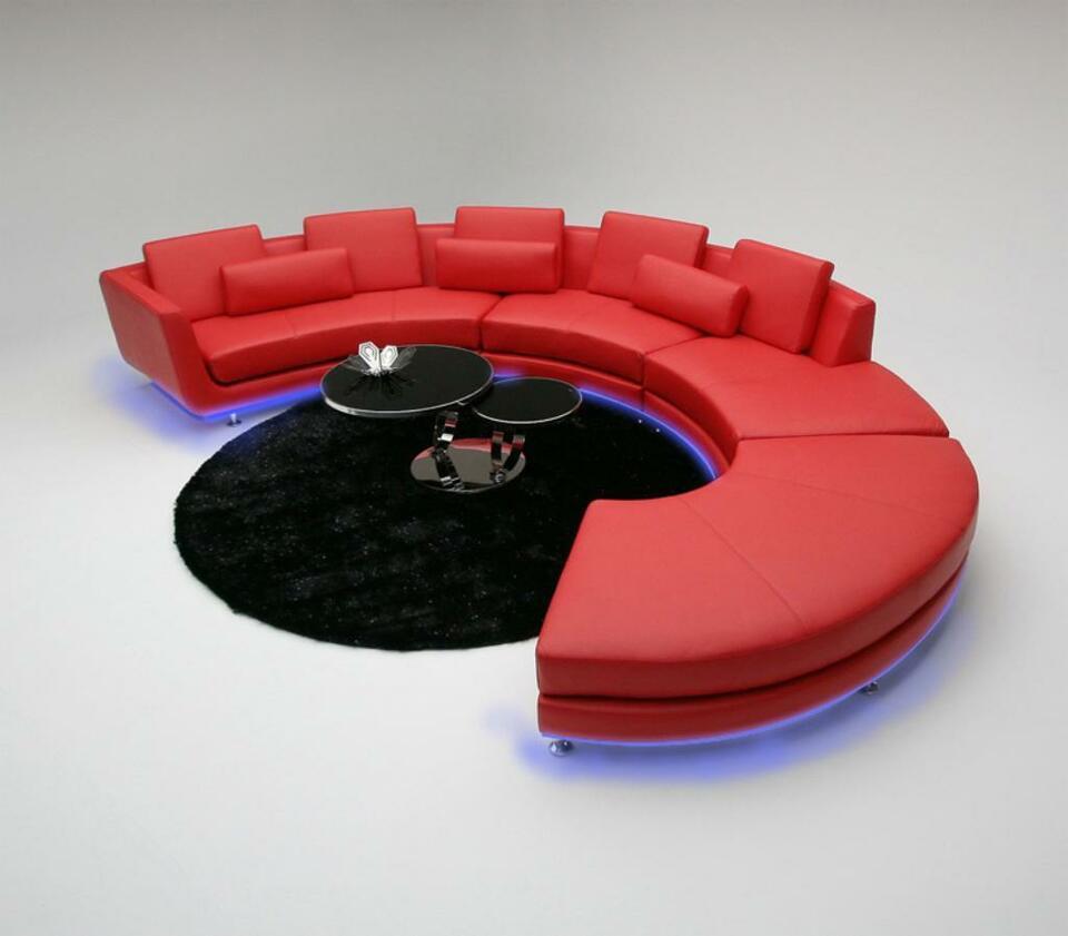 Full Size of Rund Sofa Couch Polster Garnitur Wohnlandschaft Design Ecksofa Le Ebay Big Schlaffunktion Wildleder Xxl Sitzsack 2 5 Sitzer Reinigen 3 U Grau Leder Rotes Sofa Sofa Rund