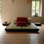 Tatami Bett Japanshop Haiku 160 200x200 Weiß Eiche Sonoma Kopfteil Wohnwert Betten Günstig Kaufen Billige überlänge 120x200 Mit Bettkasten Schubladen Bett Tatami Bett