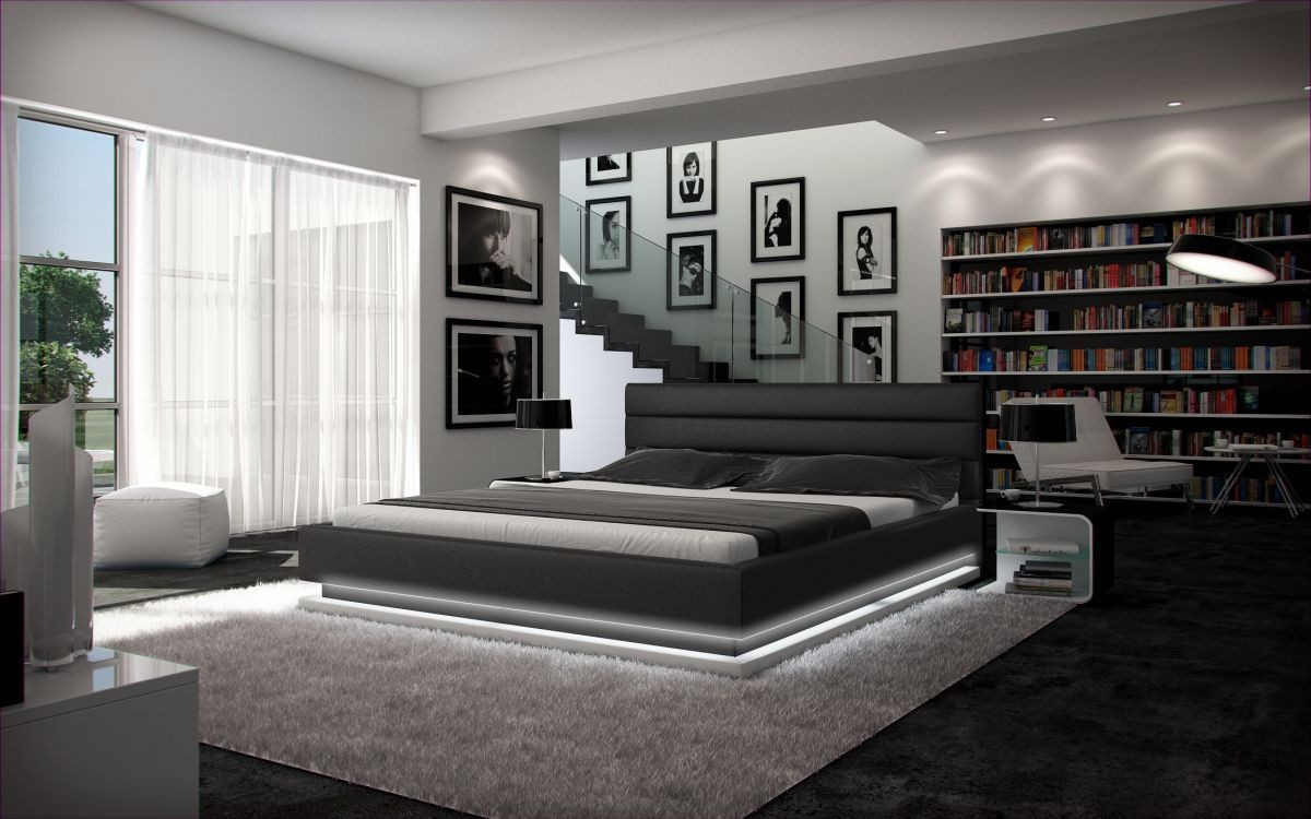 Full Size of Modernes Bett 180x200 Wasserbett Moonlight Komplettes Im Set Mit Modernem Design Konfigurieren Breite Bettkasten Lattenrost Keilkissen Stabiles Billige Betten Bett Modernes Bett 180x200
