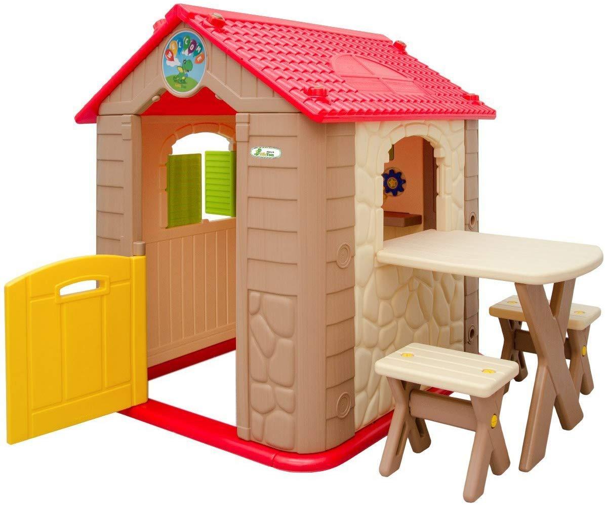 Full Size of Littletom Spielhaus Ab 1 Garten Kinderhaus Mit Tisch Pool Guenstig Kaufen Truhenbank Bewässerungssystem Loungemöbel Holz Gartenüberdachung Bewässerung Garten Spielhaus Garten Kunststoff