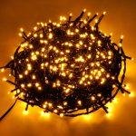 Weihnachtsbeleuchtung Fenster Lichterketten Jahreszeitliche Dekoration 2x1m Led Lichtervorhang Folie Für Sichtschutz Einbauen Mit Integriertem Rollladen Fenster Weihnachtsbeleuchtung Fenster