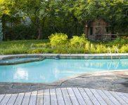 Swimmingpool Garten