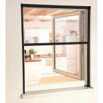 Hecht Smart Rollo Fliegengitter 160x160 Anthrazit Aluminium Sonnenschutz Fenster Mit Lüftung Kosten Neue Einbruchschutz Folie Fototapete Innen Eingebauten Fenster Fenster Anthrazit