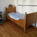 Bett Bauernbett Weichholzbett Antik Weichholz Mit Muschelkopf 217 Sofa Bettfunktion Boxspring Selber Bauen 180x200 Betten 90x200 Flach Massivholz 220 X 200 Bett Bett Antik