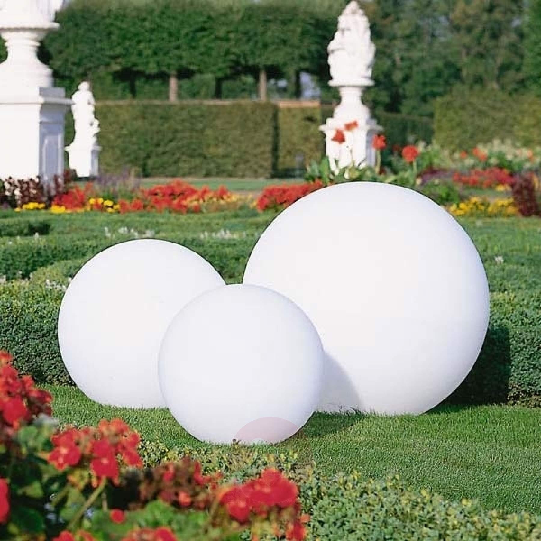 Full Size of Kugelleuchten Garten Hochwertige Kugelleuchte Snowball Wei Kaufen Lampenweltde Klettergerüst Aufbewahrungsbox Liegestuhl Fußballtor Spielgeräte Tisch Garten Kugelleuchten Garten