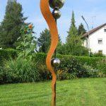 Garten Skulpturen Garten Garten Skulpturen Gartenskulpturen Stein Edelstahl Aus Rostigem Eisen Metall Kaufen Skulptur Modern Gartendeko Deko Gartenstecker Stecker Rost Edelrost