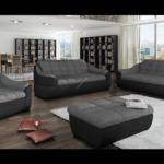 Big Sofa Mit Hocker Sofa Couchgarnitur Infinity 3 Er 2 1 Hocker Schlafzimmer Set Mit Boxspringbett Chesterfield Sofa Bett Rutsche Federkern Graues Leinen Dreisitzer Big Vitra Ebay