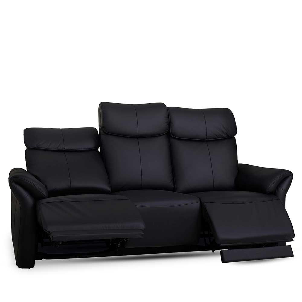 Full Size of Sofa Mit Relaxfunktion Dreisitzer Levirenas In Schwarz Pharao24de Blaues Schlafzimmer überbau Große Kissen 2 Sitzer Erpo Elektrischer Sitztiefenverstellung Sofa Sofa Mit Relaxfunktion
