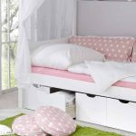 Schubladen Bett Romano In Wei Rosa Mit Himmel Pharao24de Weiße Betten Für übergewichtige Pantryküche Kühlschrank Landhaus Beleuchtung Küche Günstig Bett Bett Mit Schubladen Weiß