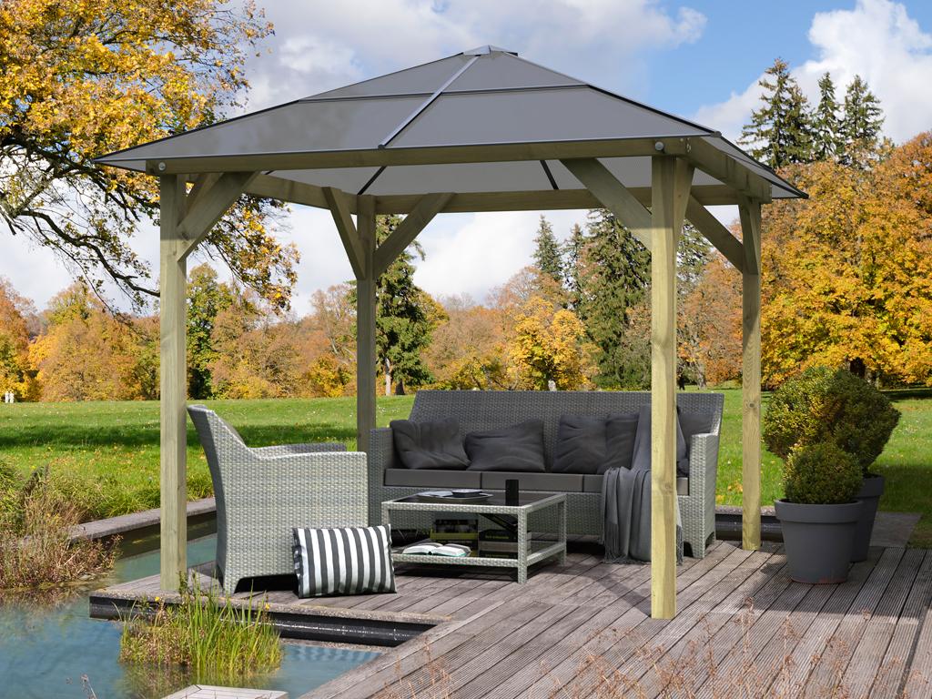 Full Size of Pavillon Garten Holz Holzpavillon Gartenlaube Audrey Gartenpavillon Stapelstühle Trampolin Mini Pool Lounge Set Rattan Sofa Loungemöbel Relaxliege Garten Pavillon Garten