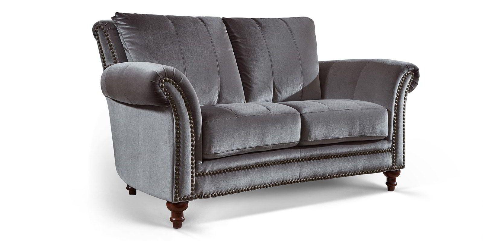 Full Size of Barock Sofa Couch 2 Sitzer In Samt Mit Dekorativen Nieten Und Schlaffunktion Federkern Relaxfunktion Hussen Big Günstig Heimkino Modulares Günstige Grau Sofa Barock Sofa