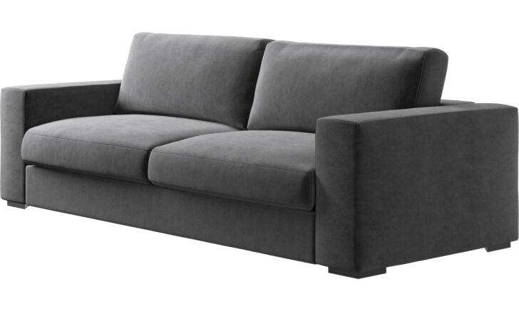 Medium Size of Rattan Sofa 3 Sitzer Grau Louisiana (3 Sitzer Mit Polster Grau) Retro Kingsley 3 Sitzer Ikea Schlaffunktion Nino Schwarz/grau Couch 2 Und Leder Samt Sofas Sofa Sofa 3 Sitzer Grau