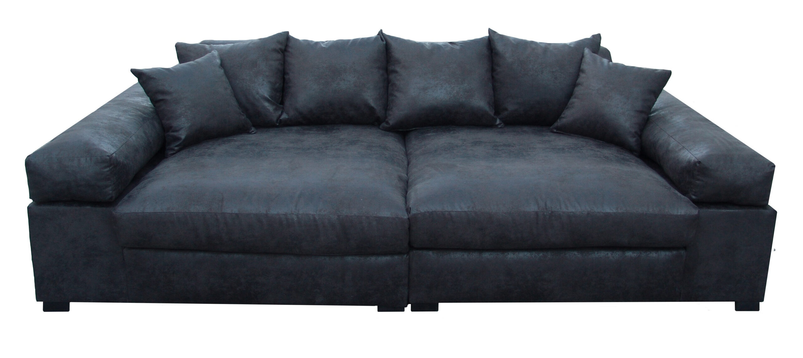 Full Size of Big Sofa Leder 3 Sitzer Vintagelederoptik Schwarz Vancover 9855 Ra Polyrattan 2 5 Mit Recamiere Home Affair Holzfüßen Weiß Grau Relaxfunktion Grün Leinen Sofa Big Sofa Leder