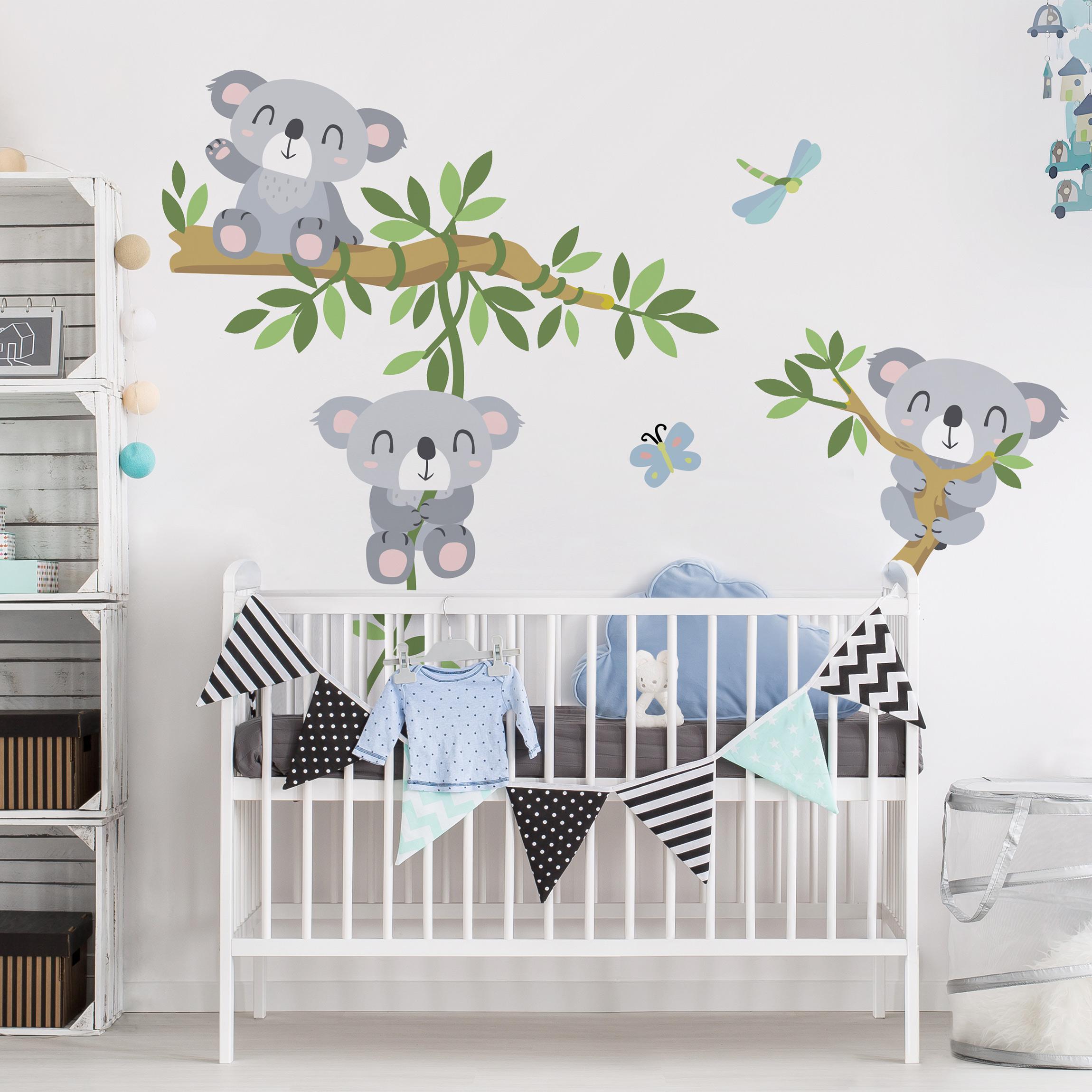 Full Size of Wandtattoo Kinderzimmer Koala Set Bilder Fürs Wohnzimmer Klebefolie Für Fenster Folie Fliegengitter Moderne Rollos Laminat Bad Betten übergewichtige Regale Kinderzimmer Bilder Für Kinderzimmer