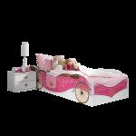 Prinzessinen Bett Bett Prinzessinen Bett Rauch Packs Kate In Alpinwei Mit Absetzung Printdekor Prinzessin Betten Für Teenager Platzsparend Bambus 120x200 Bettkasten Stapelbar