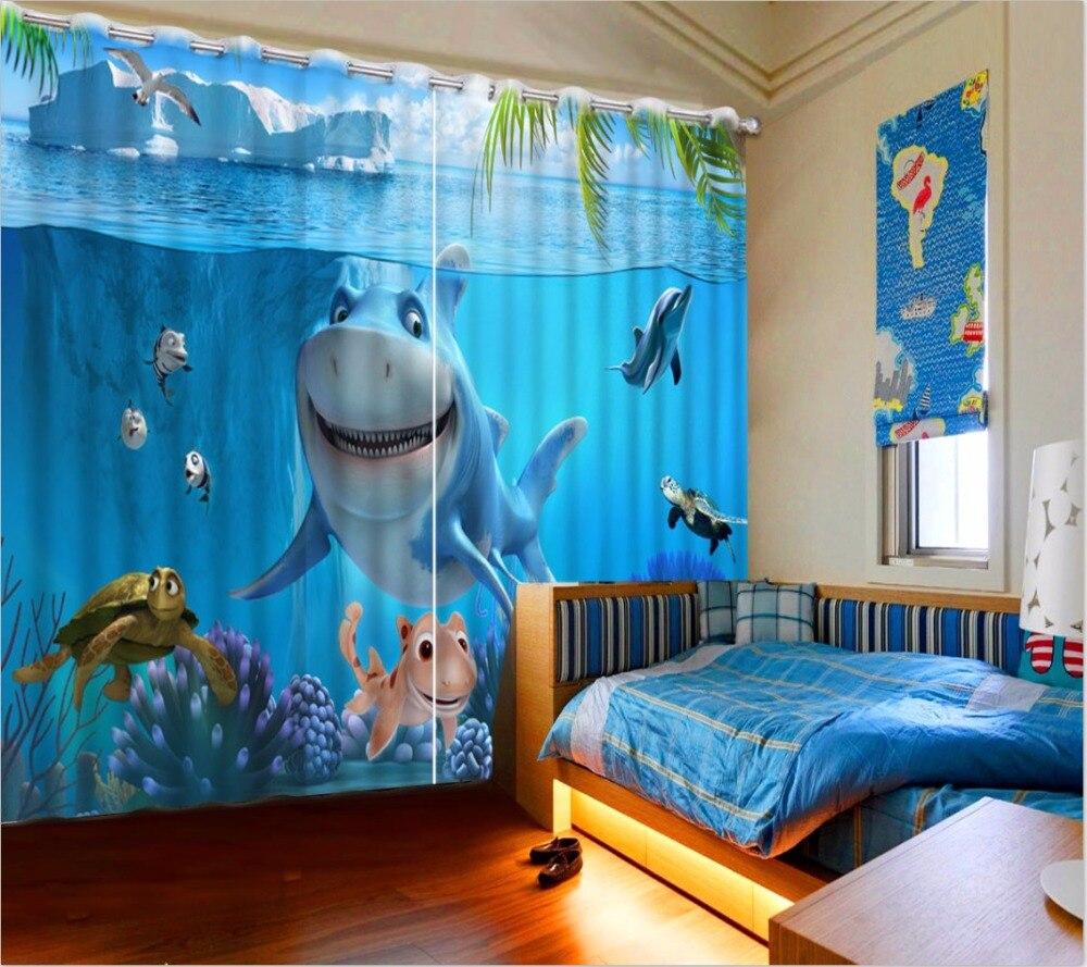 Full Size of Vorhänge Vorhnge 3d Foto Druck Vorhang Shark Schlafzimmer Wohnzimmer Regal Küche Regale Sofa Weiß Kinderzimmer Kinderzimmer Vorhänge